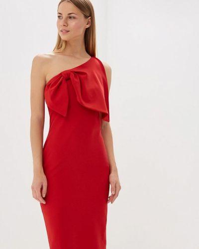 Красное платье весеннее Bruebeck