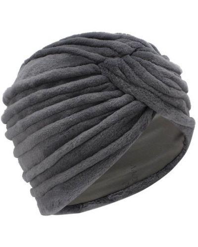 Серая шапка норковая Kussenkovv
