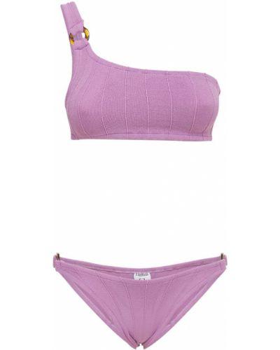 Фиолетовые бикини на резинке Hunza G