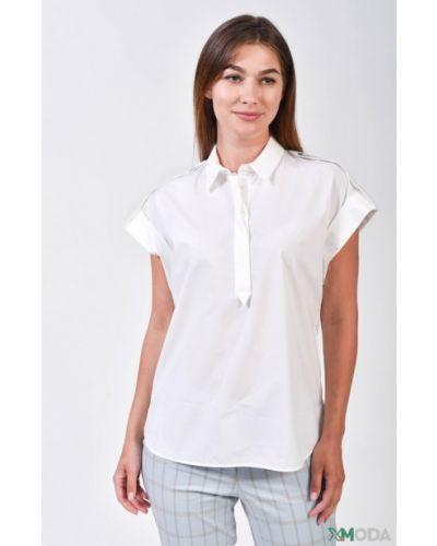 Хлопковая белая блузка Louis And Mia