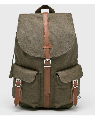 Зеленый рюкзак с отделениями Herschel
