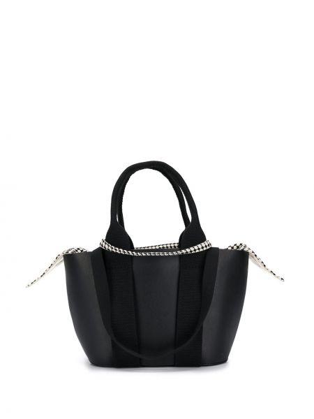 Черная сумка-тоут Muun