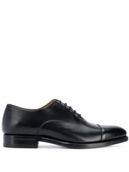 Кожаные классические черные классические туфли Berwick Shoes