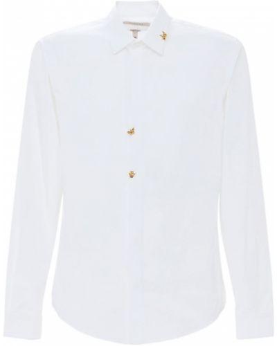 Biała koszula bawełniana Rochas