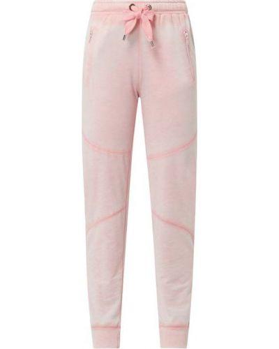 Różowe spodnie z wiskozy Frogbox