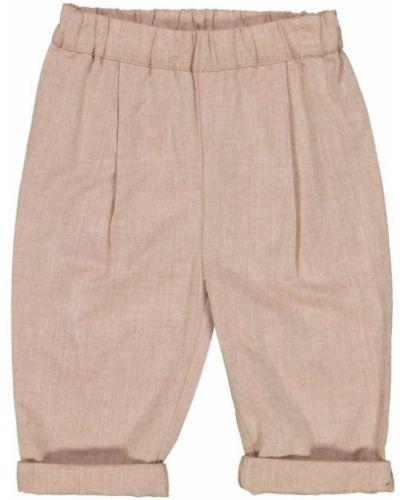 Beżowe spodnie na lato Wheat