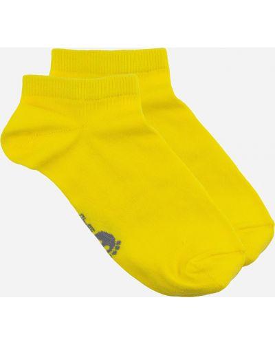 Укороченные носки короткие - желтые Lapas