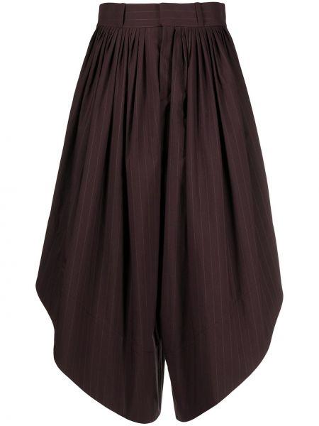 Укороченные брюки с завышенной талией расклешенные Chloé