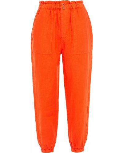 Укороченные палаццо - оранжевые Joie