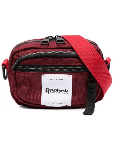Стеганая красная поясная сумка на молнии Reebok X Victoria Beckham