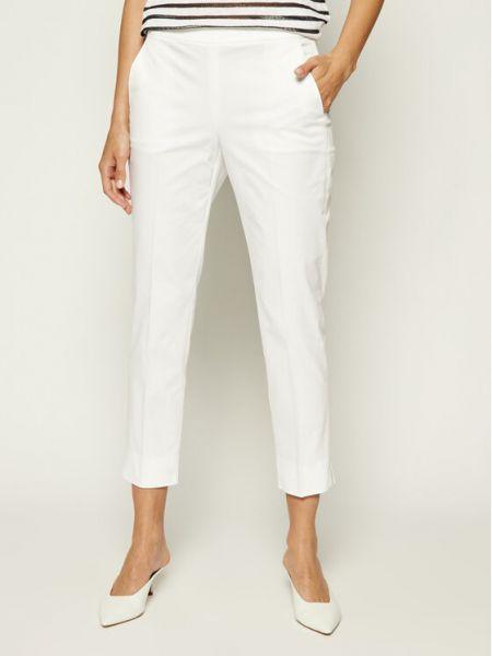 Spodnie materiałowe - białe Max&co.