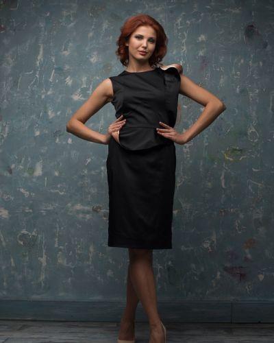 Прямое платье - черное Golda