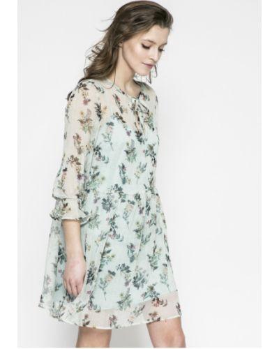 Платье мини свободного кроя с узором Answear