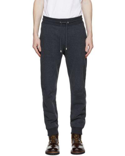 Srebro spodnie z kieszeniami z mankietami z łatami Belstaff