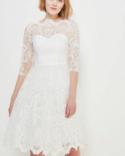 Белое платье Chi Chi London