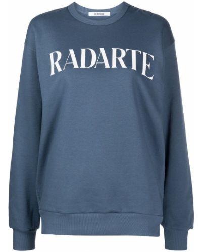 Niebieska bluza z długimi rękawami Rodarte