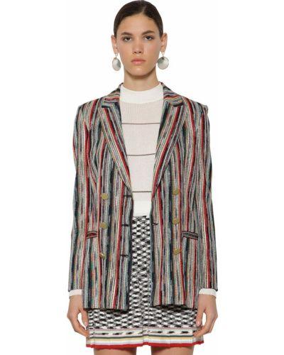 Пиджак шерстяной на пуговицах Missoni