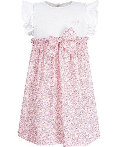 Нарядное розовое платье Il Gufo