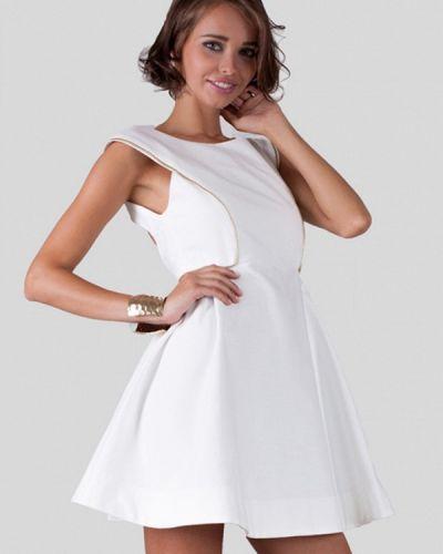 Прямое белое платье Anushka By Anna Pavlova