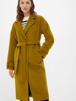 Зеленое зимнее пальто Shartrez