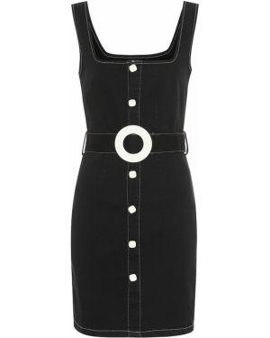 Платье мини джинсовое в полоску Solid & Striped