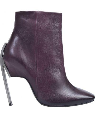 Фиолетовые ботинки Vic Matie
