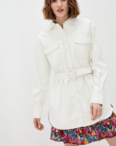 Белая рубашка с длинными рукавами Unq