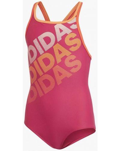 Купальник розовый Adidas