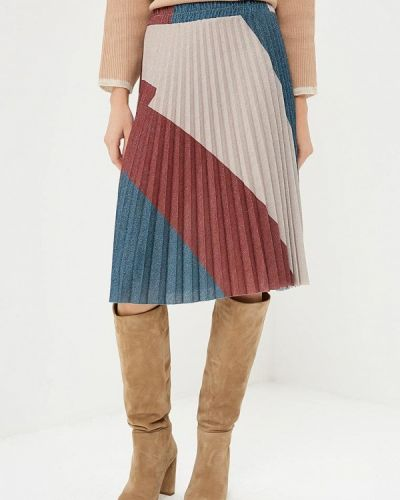 Плиссированная юбка итальянский Rinascimento