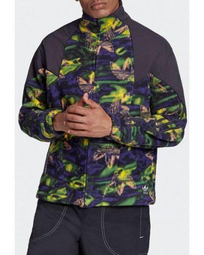Черная флисовая кофта Adidas Originals