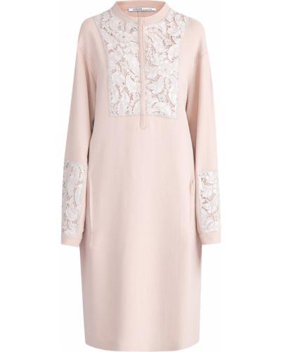 Платье из вискозы ажурное Agnona