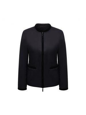 Утепленная куртка - черная Emporio Armani