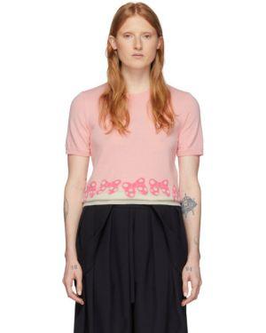 Пуловер шерстяной короткий Comme Des Garcons Girl
