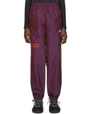 Спортивные брюки с лампасами со штрипками Adidas Originals By Alexander Wang