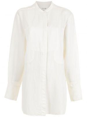 Длинная рубашка - белая Osklen