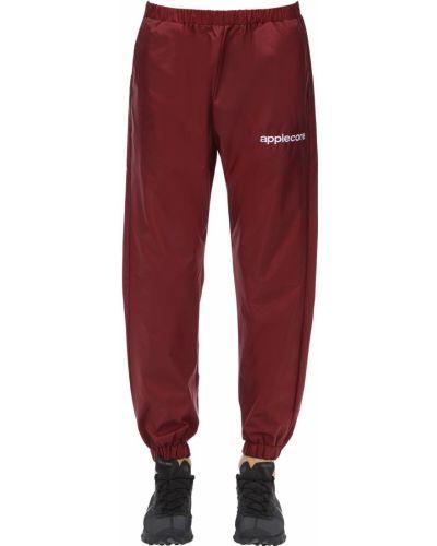 Spodnie z printem Applecore