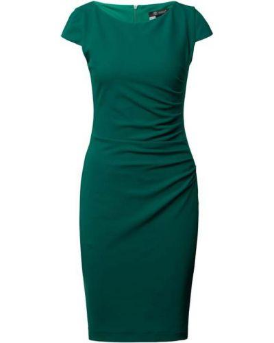 Zielona sukienka koktajlowa Paradi