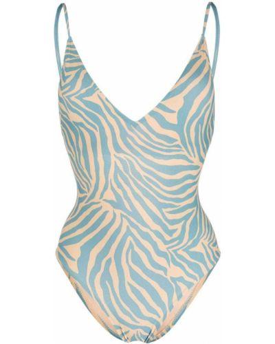 Пляжный купальник - синий Anjuna