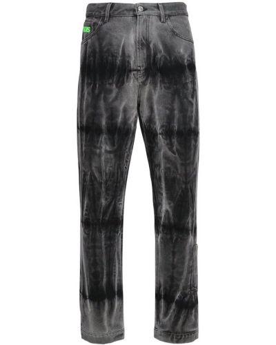 Czarne mom jeans bawełniane Gcds