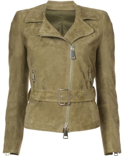 Замшевая куртка - зеленая Sylvie Schimmel