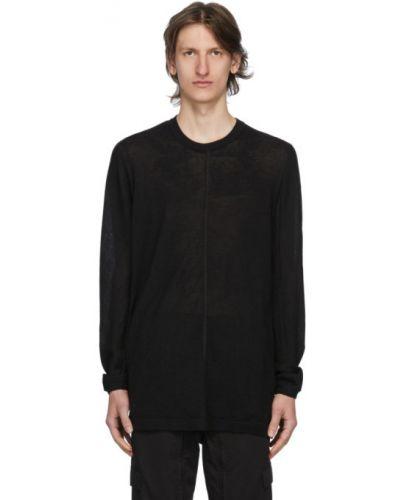 Czarny sweter z długimi rękawami Acronym