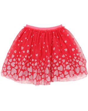 Юбка из фатина - розовая Billieblush