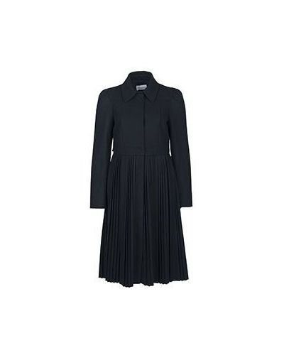 Черное пальто Valentino Red