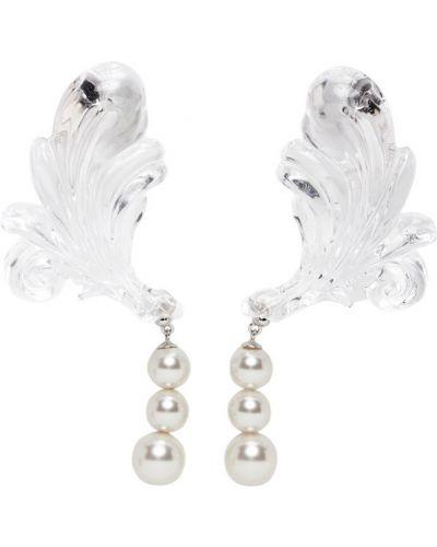 Kolczyki sztyfty perły Shushu/tong