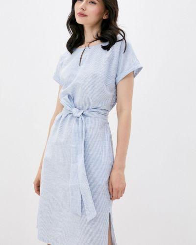 Расклешенное платье - голубое Finn Flare
