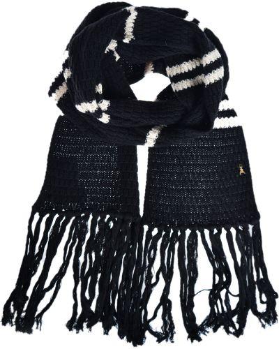 Черный шарф Patrizia Pepe