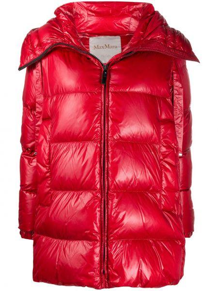 Klasyczny płaszcz z kapturem z długimi rękawami Max Mara The Cube