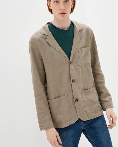 Бежевый пиджак Mossmore