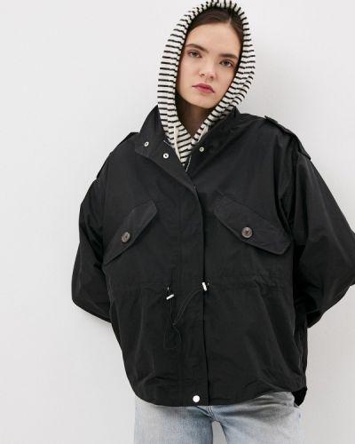 Облегченная черная куртка B.style