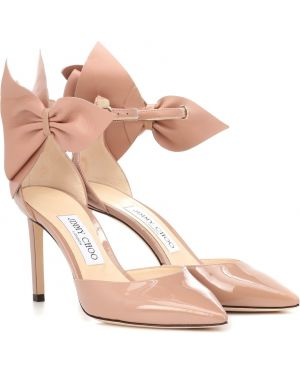 Туфли-лодочки кожаные Jimmy Choo
